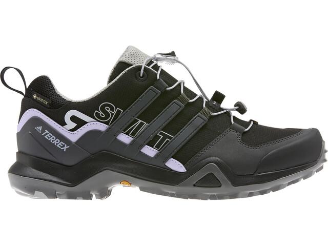 adidas TERREX Swift R2 Gore-Tex Zapatillas Senderismo Mujer, core black/dgh solid grey/purple tint